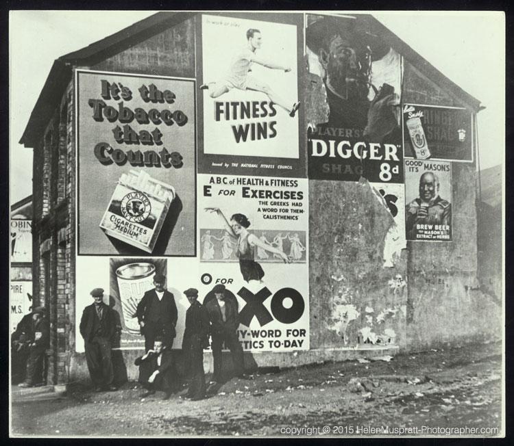 Unemployed S Wales miners 1937 (Helen Muspratt)