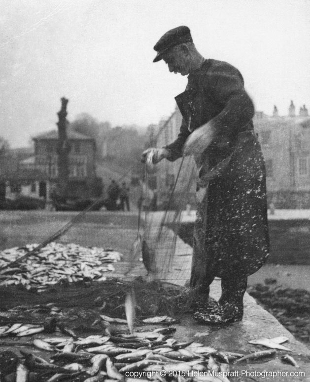 'The Last Herring Catch' at Swanage 1929